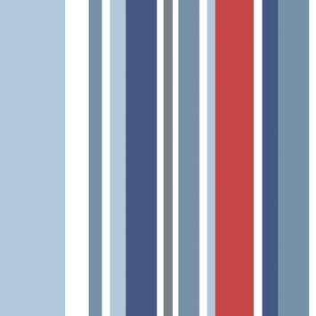 Papierbehang streep multicolour (dessin df73999)