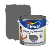 Flexa Strak op de Muur muurverf antraciet 2,5 l