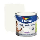 Flexa Strak op de Muur muurverf wit 2,5 l
