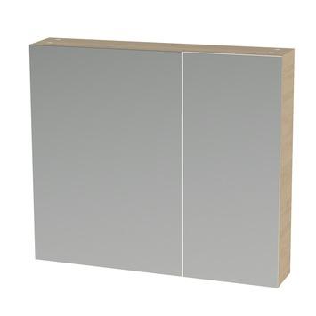 Tiger s line spiegelkast 80 cm naturel eiken kopen for Spiegelkast 80 cm