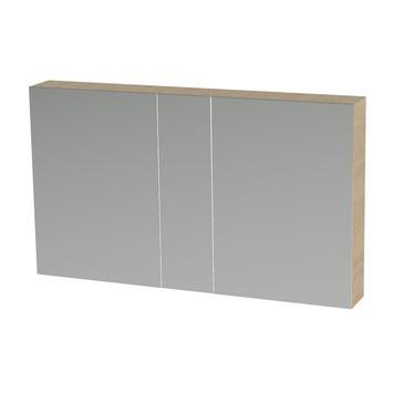 Tiger S-line spiegelkast 120 cm naturel eiken