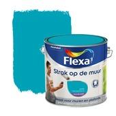 Flexa Strak op de Muur muurverf hemelsblauw 2,5 l