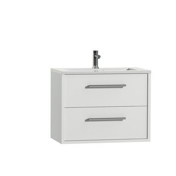 Tiger Boston badkamermeubel 80 cm hoogglans wit met greep chroom en ...