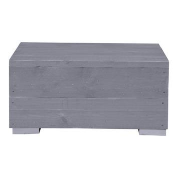 Salontafel Blijdeld grijs steigerhout 36x76 cm