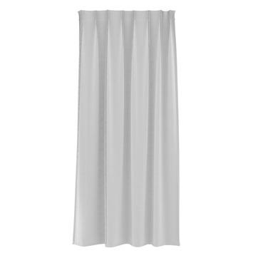 le noir blanc kant en klaar gordijn inbetween krijtstreep wit 1141 140 x