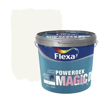 Flexa Powerdek Magic Dry wit 10 liter