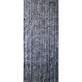 Kattenstaarten blauw/grijs/wit gemêleerd 90x220 cm