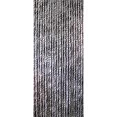 Kattenstaarten grijs/bruin/wit gemêleerd 100x230 cm