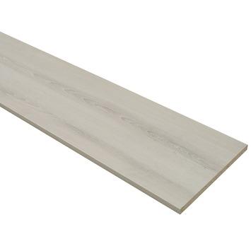 Meubelpaneel ABS grijs eiken 240x40 cm dikte 18 mm