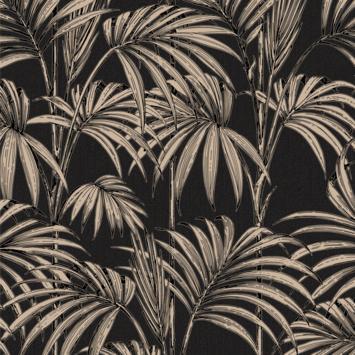 Vliesbehang honolulu zwart goud (dessin 32-970)