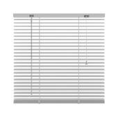 KARWEI horizontale jaloezie wit (201) 120 x 250 cm - 25 mm