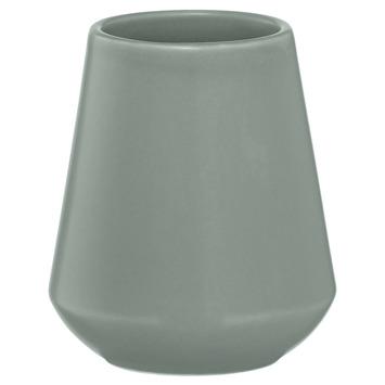 Sealskin Beker Conical Porselein Groen