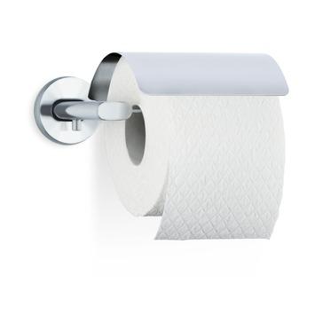 Blomus toiletrolhouder met klep Areo RVS