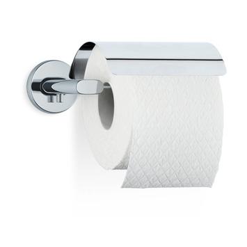 Blomus toiletrolhouder met klep Areo hoogglans RVS