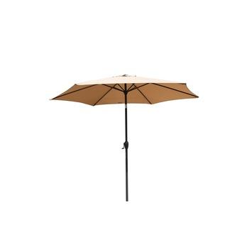 Parasol Lombok taupe d270 cm