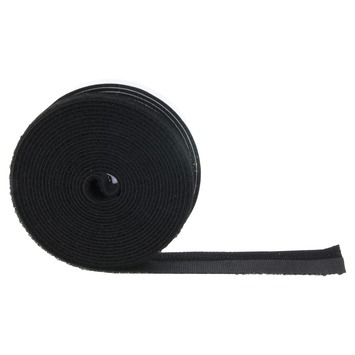 Bruynzeel klittenband zwart 15 mm 400 cm
