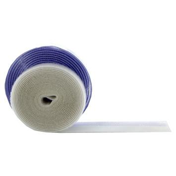 Bruynzeel klittenband wit 15 mm 400 cm