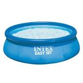 Intex zwembad 244x76 cm. Met 12 volt filterpomp