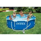 Intex zwembad 305x76 cm. Excl. 12 volt filterpomp