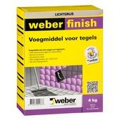 Weber SG voegmiddel wand/vloer lichtgrijs 4 kg