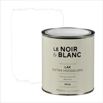 Le Noir & Blanc lak extra hoogglans white 750 ml