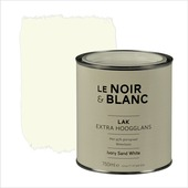 Le Noir & Blanc lak extra hoogglans sand white 750 ml