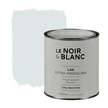 Le Noir & Blanc lak extra hoogglans island grey 750 ml