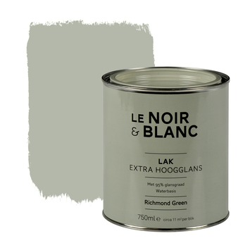 Le Noir & Blanc lak extra hoogglans richmond green 750 ml