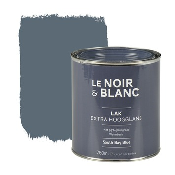 Le Noir & Blanc lak extra hoogglans south bay blue 750 ml