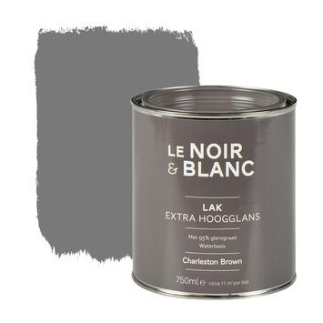 Le Noir & Blanc lak extra hoogglans charleston brown 750 ml