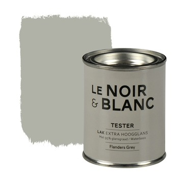 Le Noir & Blanc lak extra hoogglans flanders grey 100 ml