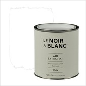Le Noir & Blanc lak extra mat white 750 ml