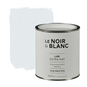 Le Noir & Blanc lak extra mat island grey 750 ml
