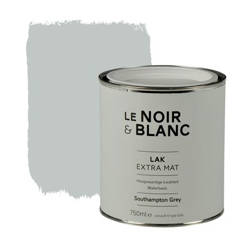 Le Noir & Blanc lak extra mat south grey 750 ml