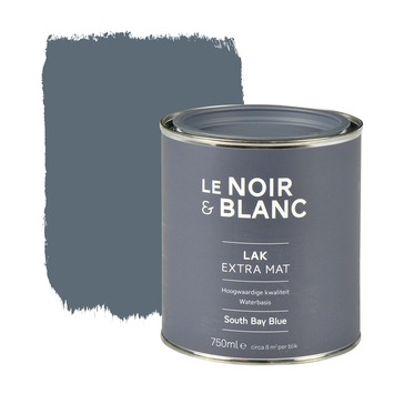 Le Noir & Blanc lak extra mat south bay blue 750 ml