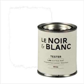 Le Noir & Blanc lak extra mat white 100 ml