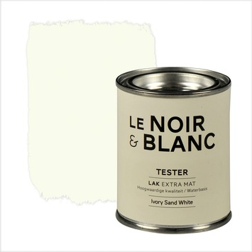 Le Noir & Blanc lak extra mat sand white 100 ml