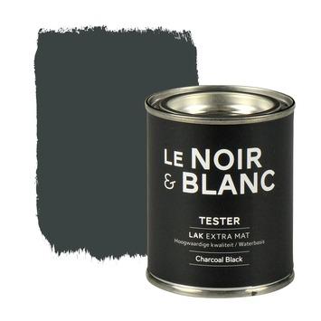 Le Noir & Blanc lak extra mat charcoal black 100 ml