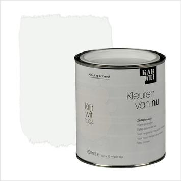 KARWEI Kleuren van Nu lak zijdeglans krijtwit 750 ml