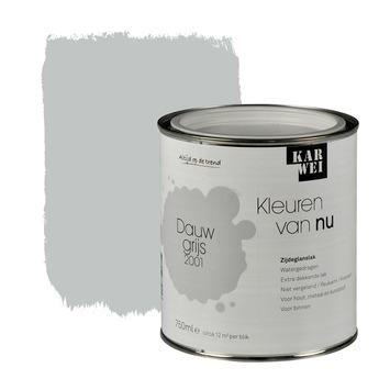 KARWEI Kleuren van Nu lak zijdeglans dauwgrijs 750 ml