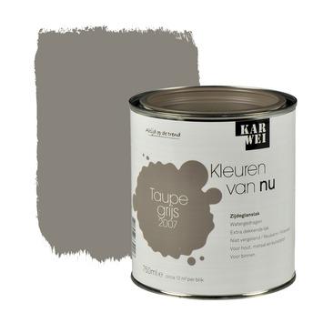 KARWEI Kleuren van Nu lak zijdeglans taupegrijs 750 ml