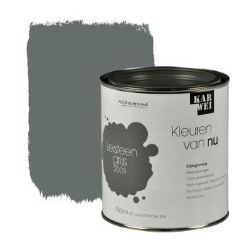 KARWEI Kleuren van Nu lak zijdeglans leisteengrijs 750 ml