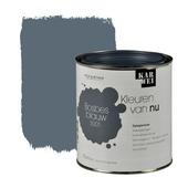 KARWEI Kleuren van Nu lak zijdeglans bosbesblauw 750 ml
