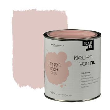 KARWEI Kleuren van Nu lak zijdeglans engelsroze 750 ml