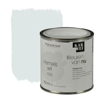 KARWEI Kleuren van Nu lak zijdeglans hemelswit 250 ml