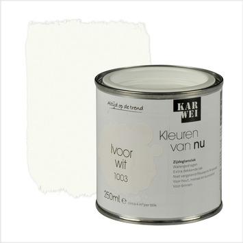 KARWEI Kleuren van Nu lak zijdeglans ivoorwit 250 ml