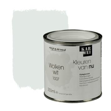 KARWEI Kleuren van Nu lak zijdeglans wolkenwit 250 ml