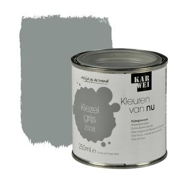 KARWEI Kleuren van Nu lak zijdeglans kiezelgrijs 250 ml