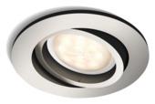 Philips inbouwspot Shellbark nikkel 1X4,5w