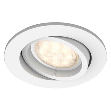 Philips inbouwspot Shellbark 1x4,5W wit